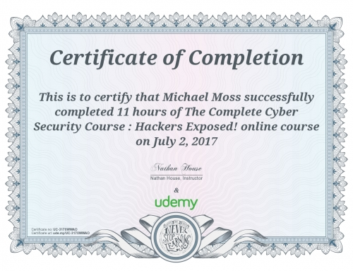 The Complete Cyber Security Course: Hackers Exposed
